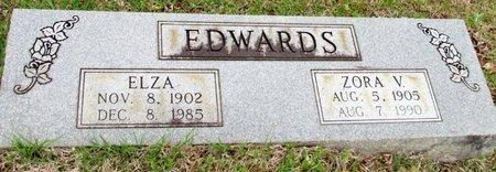 EDWARDS, ZORA V. - White County, Arkansas | ZORA V. EDWARDS - Arkansas Gravestone Photos