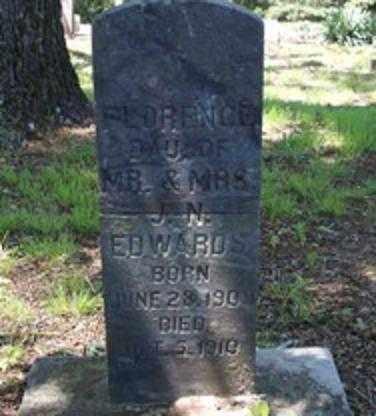 EDWARDS, FLORENCE - White County, Arkansas | FLORENCE EDWARDS - Arkansas Gravestone Photos
