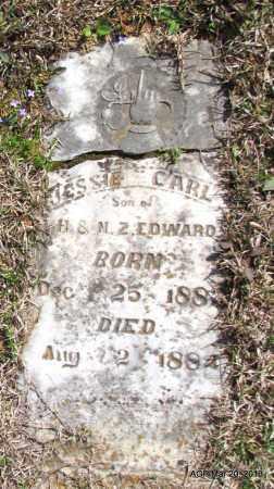EDWARDS, JESSIE CARL - White County, Arkansas   JESSIE CARL EDWARDS - Arkansas Gravestone Photos