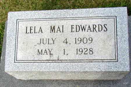 EDWARDS, LELA MAI - White County, Arkansas | LELA MAI EDWARDS - Arkansas Gravestone Photos