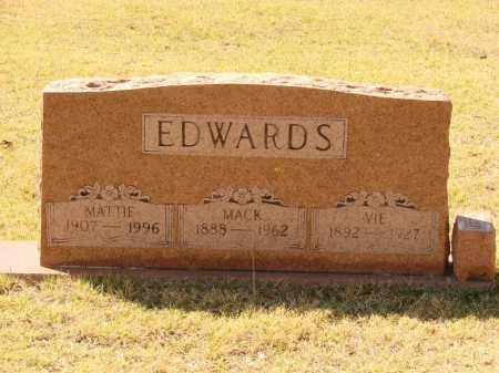 EDWARDS, VIE - White County, Arkansas | VIE EDWARDS - Arkansas Gravestone Photos