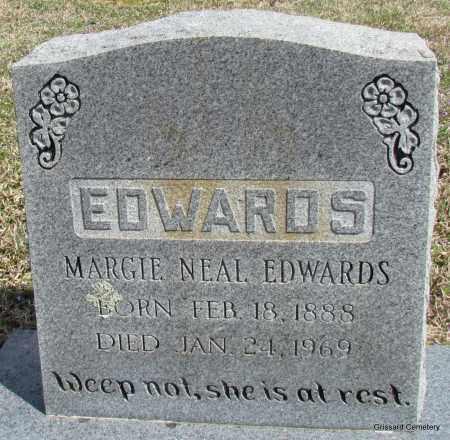 EDWARDS, MARGIE - White County, Arkansas | MARGIE EDWARDS - Arkansas Gravestone Photos