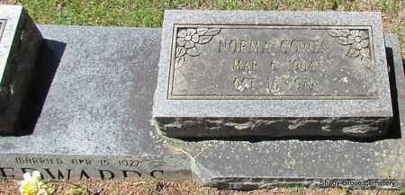 EDWARDS, NORMA (CLOSE UP) - White County, Arkansas | NORMA (CLOSE UP) EDWARDS - Arkansas Gravestone Photos