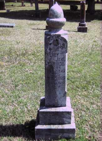 EDWARDS, NANCY JANE - White County, Arkansas | NANCY JANE EDWARDS - Arkansas Gravestone Photos