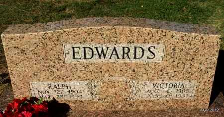 EDWARDS, VICTORIA - White County, Arkansas   VICTORIA EDWARDS - Arkansas Gravestone Photos