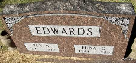 EDWARDS, ROY B - White County, Arkansas | ROY B EDWARDS - Arkansas Gravestone Photos