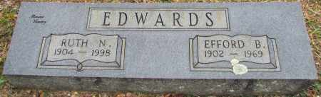 EDWARDS, EFFORD B - White County, Arkansas | EFFORD B EDWARDS - Arkansas Gravestone Photos