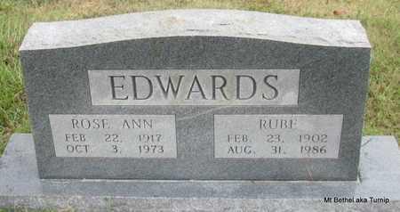 EDWARDS, RUBE - White County, Arkansas | RUBE EDWARDS - Arkansas Gravestone Photos