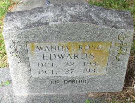 EDWARDS, WANDA ROSE - White County, Arkansas | WANDA ROSE EDWARDS - Arkansas Gravestone Photos