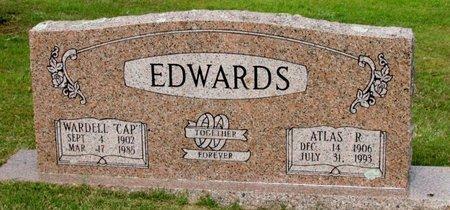 "EDWARDS, WARDELL ""CAP"" - White County, Arkansas | WARDELL ""CAP"" EDWARDS - Arkansas Gravestone Photos"
