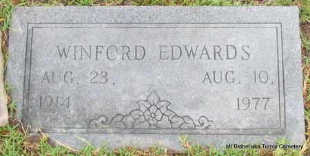 EDWARDS, WINFORD - White County, Arkansas | WINFORD EDWARDS - Arkansas Gravestone Photos