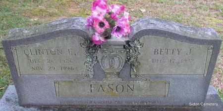 FASON, CLINTON E - White County, Arkansas | CLINTON E FASON - Arkansas Gravestone Photos
