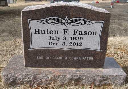 FASON, HULEN F - White County, Arkansas | HULEN F FASON - Arkansas Gravestone Photos
