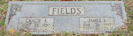 FIELDS, GRACIE A - White County, Arkansas | GRACIE A FIELDS - Arkansas Gravestone Photos