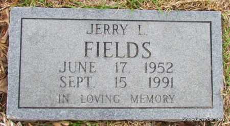 FIELDS, JERRY L - White County, Arkansas | JERRY L FIELDS - Arkansas Gravestone Photos