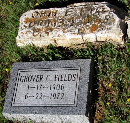 FIELDS, JOHN E. (ORIGINAL STONE) - White County, Arkansas | JOHN E. (ORIGINAL STONE) FIELDS - Arkansas Gravestone Photos