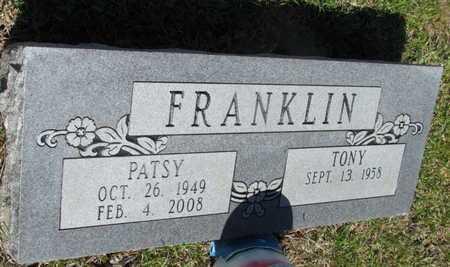 FRANKLIN, PATSY LOU - White County, Arkansas | PATSY LOU FRANKLIN - Arkansas Gravestone Photos