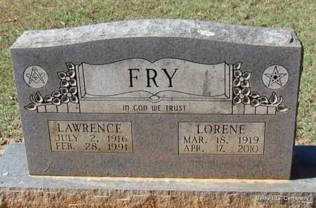 HACKWORTH FRY, LORENE ELIZABETH - White County, Arkansas | LORENE ELIZABETH HACKWORTH FRY - Arkansas Gravestone Photos