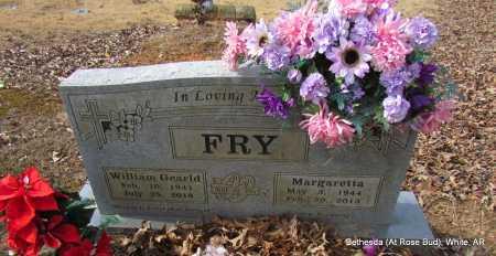 WILLIAMS FRY, MARGARETTA - White County, Arkansas | MARGARETTA WILLIAMS FRY - Arkansas Gravestone Photos