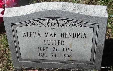 FULLER, ALPHA MAE - White County, Arkansas   ALPHA MAE FULLER - Arkansas Gravestone Photos