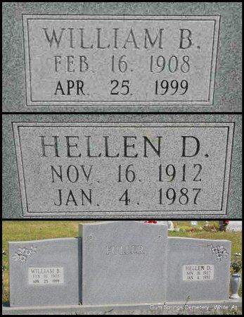 FULLER, WILLIAM BOYCE - White County, Arkansas | WILLIAM BOYCE FULLER - Arkansas Gravestone Photos