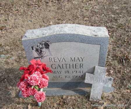 GAITHER, REVA MAY - White County, Arkansas | REVA MAY GAITHER - Arkansas Gravestone Photos