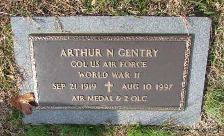 GENTRY  (VETERAN WWII), ARTHUR NEWTON - White County, Arkansas   ARTHUR NEWTON GENTRY  (VETERAN WWII) - Arkansas Gravestone Photos