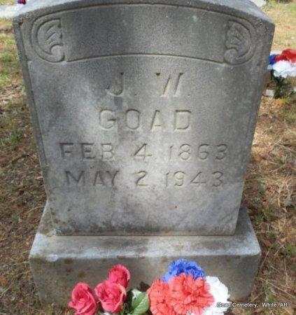 GOAD, J W - White County, Arkansas | J W GOAD - Arkansas Gravestone Photos