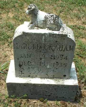 GRAHAM, HAROLD - White County, Arkansas   HAROLD GRAHAM - Arkansas Gravestone Photos