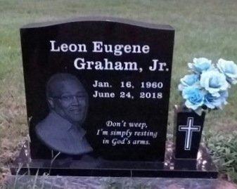 GRAHAM, JR., LEON EUGENE - White County, Arkansas | LEON EUGENE GRAHAM, JR. - Arkansas Gravestone Photos