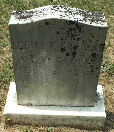 GRAHAM, LUCILE F - White County, Arkansas   LUCILE F GRAHAM - Arkansas Gravestone Photos