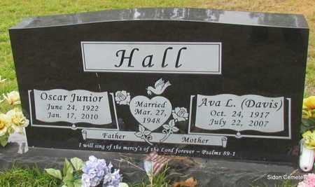 HALL, AVA L - White County, Arkansas   AVA L HALL - Arkansas Gravestone Photos