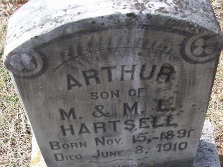 HARTSELL, ARTHUR - White County, Arkansas | ARTHUR HARTSELL - Arkansas Gravestone Photos