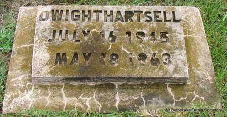 HARTSELL, DWIGHT - White County, Arkansas | DWIGHT HARTSELL - Arkansas Gravestone Photos