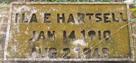 HARTSELL, ILA E - White County, Arkansas | ILA E HARTSELL - Arkansas Gravestone Photos