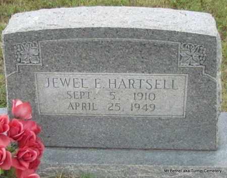 HARTSELL, JEWELL E - White County, Arkansas   JEWELL E HARTSELL - Arkansas Gravestone Photos