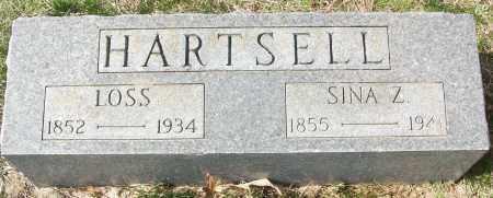 HARTSELL, SINA Z. - White County, Arkansas   SINA Z. HARTSELL - Arkansas Gravestone Photos