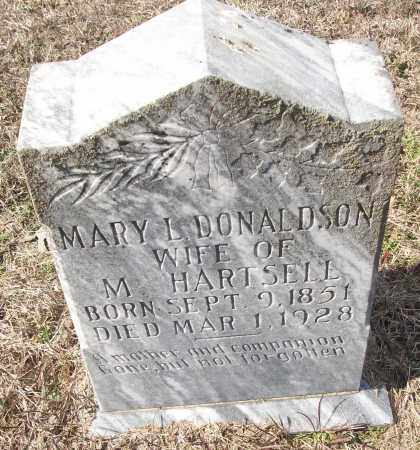 HARTSELL, MARY L. - White County, Arkansas   MARY L. HARTSELL - Arkansas Gravestone Photos