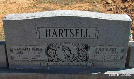 HARTSELL, JAMES DANIEL - White County, Arkansas | JAMES DANIEL HARTSELL - Arkansas Gravestone Photos