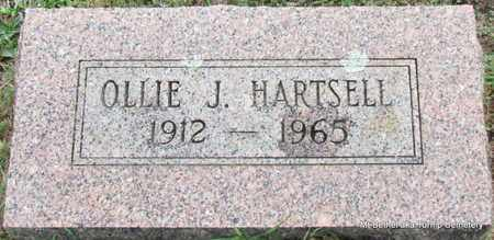 HARTSELL, OLLIE J - White County, Arkansas | OLLIE J HARTSELL - Arkansas Gravestone Photos
