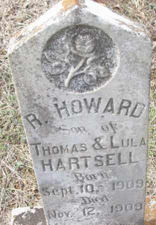 HARTSELL, R. HOWARD - White County, Arkansas   R. HOWARD HARTSELL - Arkansas Gravestone Photos