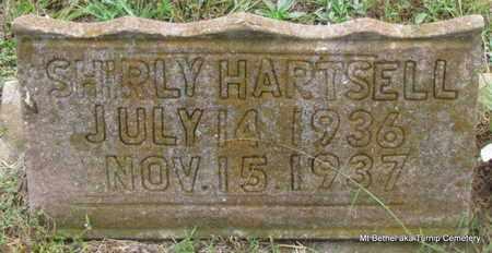 HARTSELL, SHIRLY - White County, Arkansas   SHIRLY HARTSELL - Arkansas Gravestone Photos