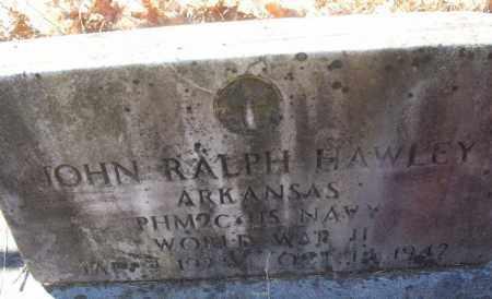 HAWLEY (VETERAN WWII), JOHN RALPH - White County, Arkansas   JOHN RALPH HAWLEY (VETERAN WWII) - Arkansas Gravestone Photos