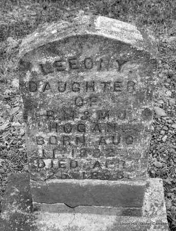 HOGAN, LEEONY - White County, Arkansas | LEEONY HOGAN - Arkansas Gravestone Photos