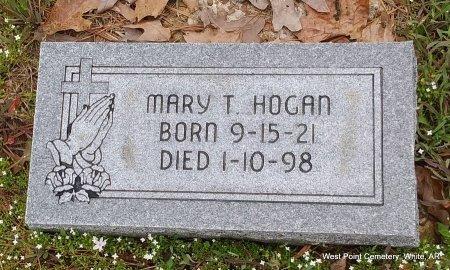 HOGAN, MARY FANNY SLEDGE - White County, Arkansas   MARY FANNY SLEDGE HOGAN - Arkansas Gravestone Photos