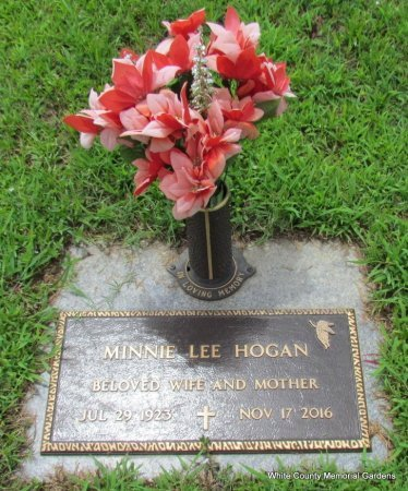 HOGAN, MINNIE LEE - White County, Arkansas | MINNIE LEE HOGAN - Arkansas Gravestone Photos