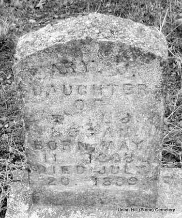 HOGAN, MARY J - White County, Arkansas | MARY J HOGAN - Arkansas Gravestone Photos