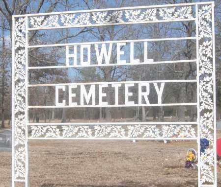 *HOWELL, CEMETERY - White County, Arkansas   CEMETERY *HOWELL - Arkansas Gravestone Photos