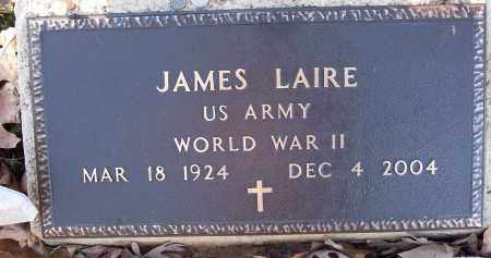 LAIRE (VETERAN WWII), JAMES - White County, Arkansas | JAMES LAIRE (VETERAN WWII) - Arkansas Gravestone Photos