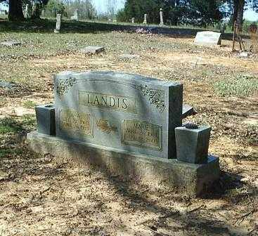 LANDIS, ALBERTA A - White County, Arkansas | ALBERTA A LANDIS - Arkansas Gravestone Photos